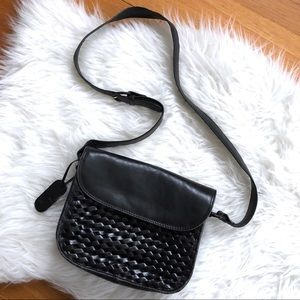 Vintage | Etienne Aigner Woven Leather Crossbody